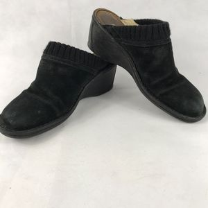 UGG Mules Size 9 Wedges Sherpa Lined